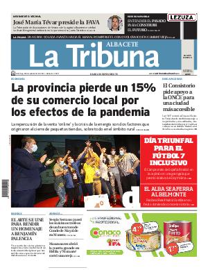 Portada La Tribuna de Albacete